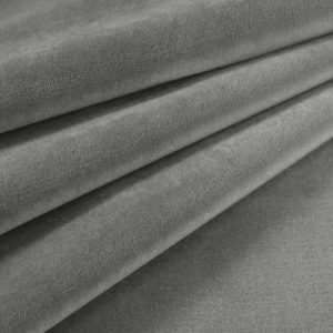 Gray Cloud Cotton Velvet Grade C