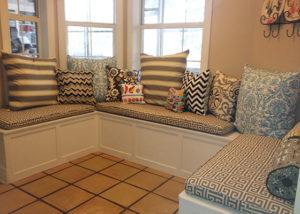 Custom Bench Cushions: Pick Your Own Size & Material