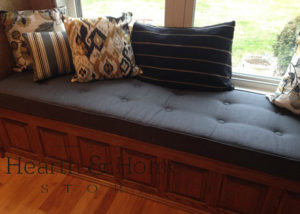 Pleasing Custom Window Seat Cushions Any Size Great Price Machost Co Dining Chair Design Ideas Machostcouk