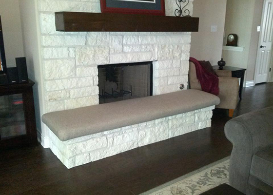 Hearth Covering For Safety And Beauty Custom Designed Hearth Cushion