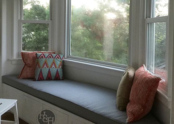 Custom Bay Window Cushions Perfect Size Amp Look Made In Usa
