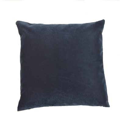 Indigo Velvet Cover Pillow Cover