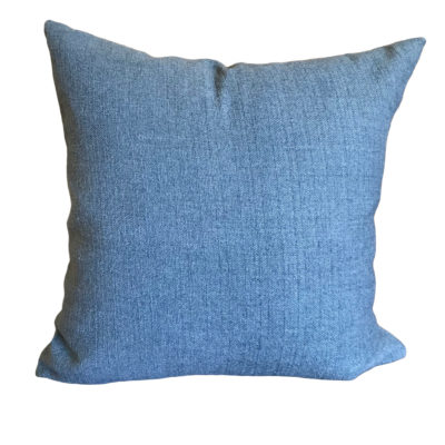 Denim Rye Pillow Cover