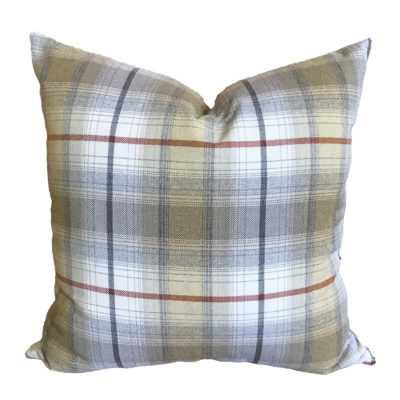 Fall Plaid Pillow Cover