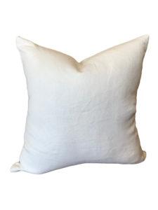 Glynn Linen White Pillow Cover