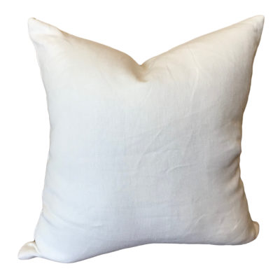 Glynn Linen White Pillow Cover