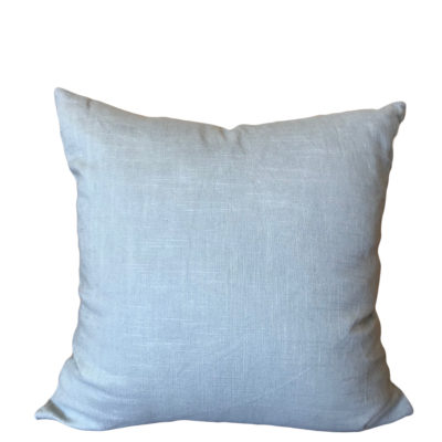 Porcelain Blue Linen Pillow Cover