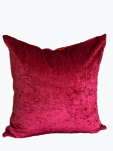 Saxony Ruby Pillow Cover
