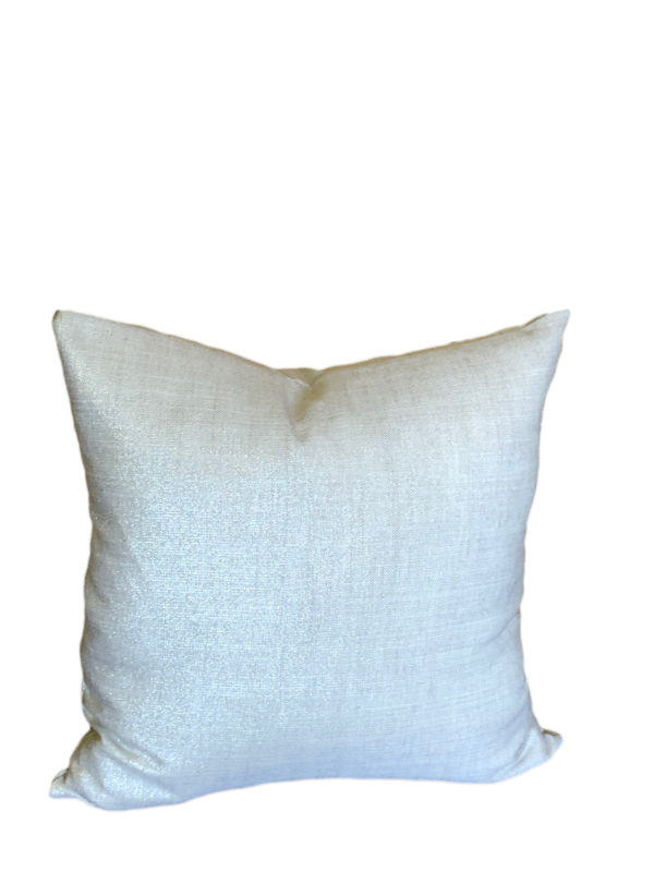 Radiance Silver White Pillow Cover