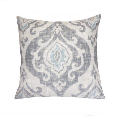 Suri Graphite Pillow Cover