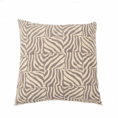 Zanzibar Grey Pillow Cover