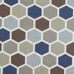 Hexagon Regal Blue Grade A