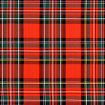 Steward Red Plaid -Grade B